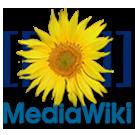 Das Logo von MediaWiki