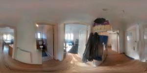 360 Grad Panorama Foto meiner Wohnung