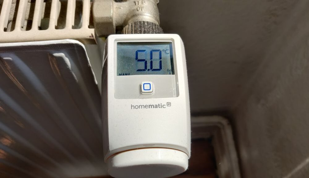 Smart-Home-Thermostat von Homematic IP